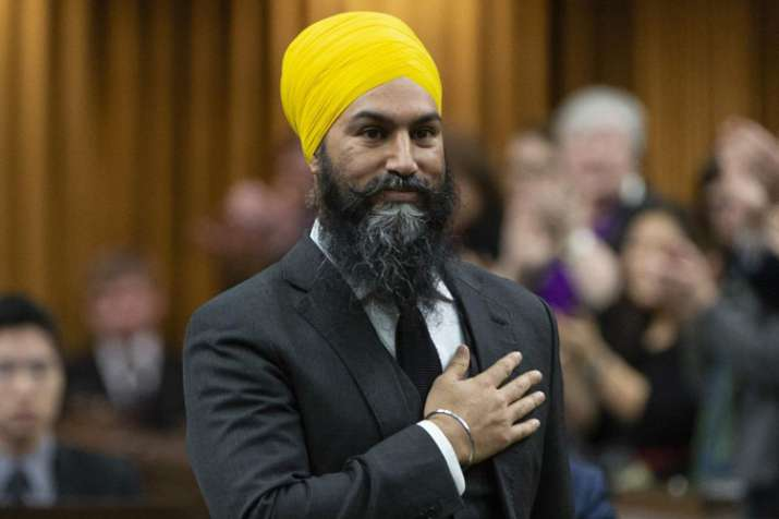 भारतीय मूल के जगमीत सिंह ने कनाडा की संसद में रचा इतिहास- India TV