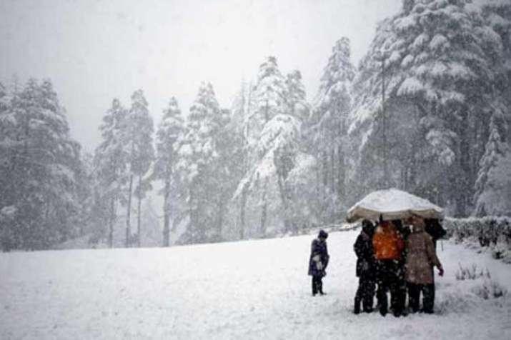 Kashmir Snowfall- India TV