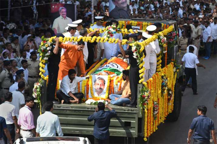 Mortal remains of Goa Chief Minister Manohar Parrikar | PTI- India TV