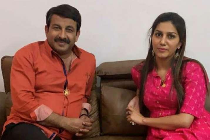 Manoj Tiwari and Sapna Choudhary- India TV