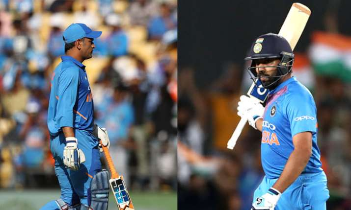 MS Dhoni And Rohit Sharma- India TV