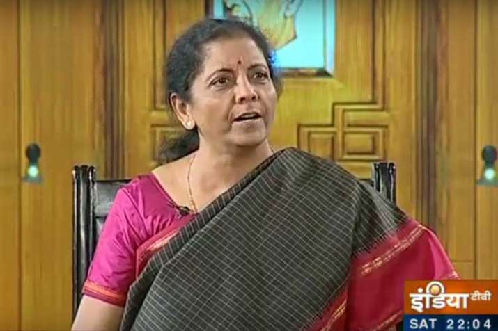 Nirmala Sitharaman in Aap ki Adalat- India TV