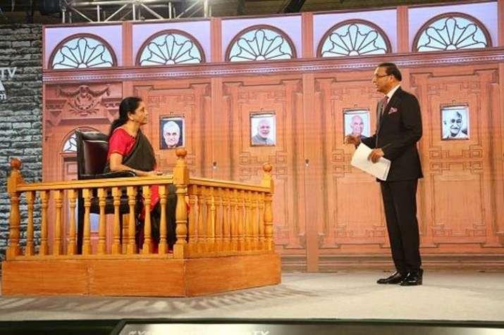 Niramala Sitharaman- India TV