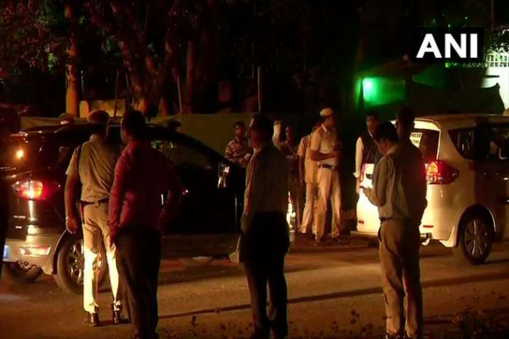 One person has been detained from outside the High Commission of Pakistan in New Delhi- India TV