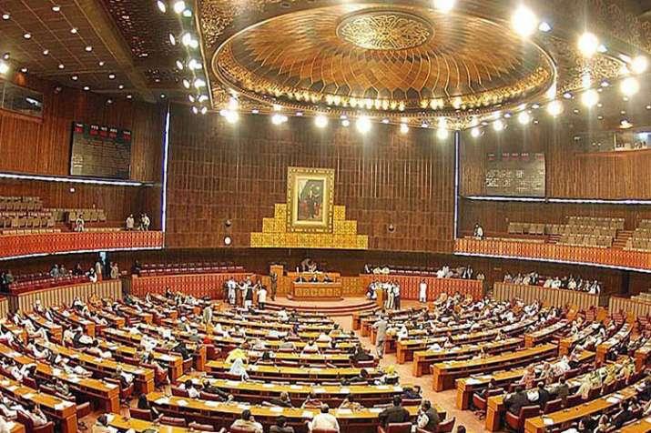Pakistan Parliament- India TV