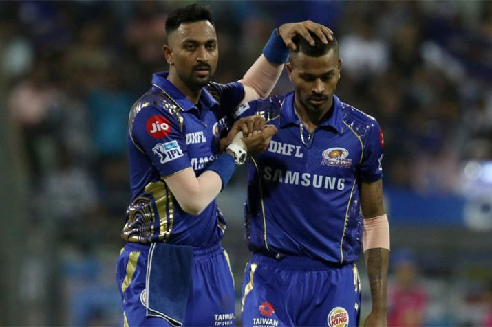 Krunal Pandya And Hardik Pandya- India TV