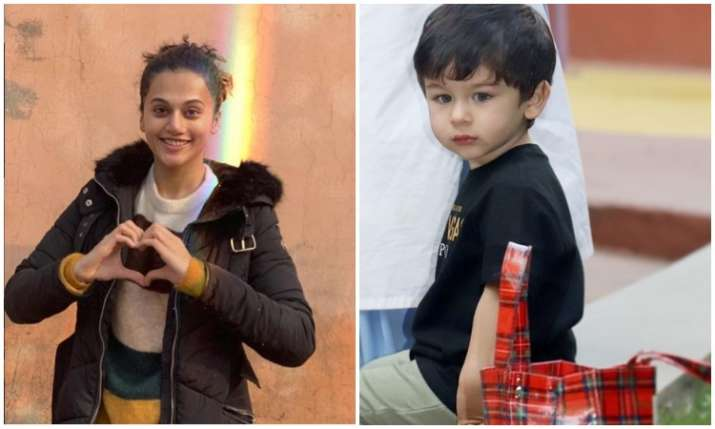 Taapsee pannu and taimur ali khan- India TV