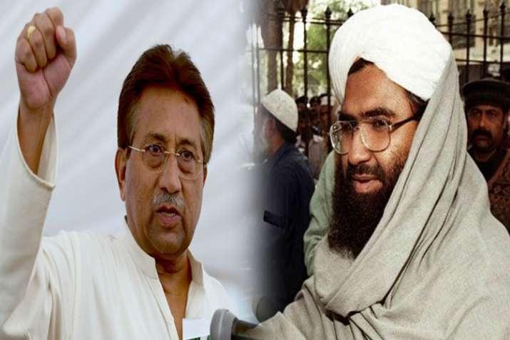 परवेज मुशर्रफ का सनसनीखेज खुलासा, बोले-जैश की मदद से भारत में करवाता था बम धमाके- India TV