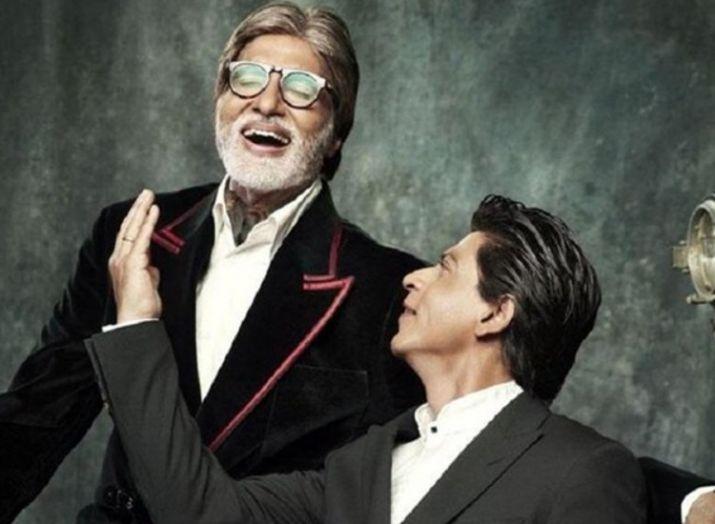 Amitabh bachchan and shahrukh khan- India TV
