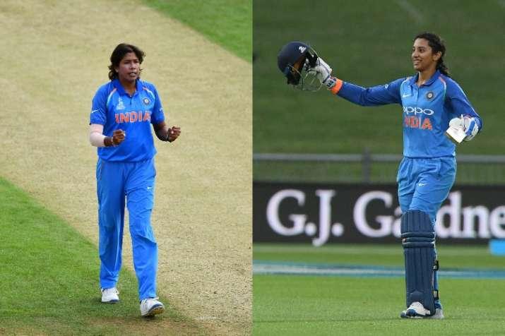 वनडे रैंकिंग में टॉप पर पहुंची झूलन गोस्वामी, मंधाना भी नंबर वन पर बरकरार- India TV