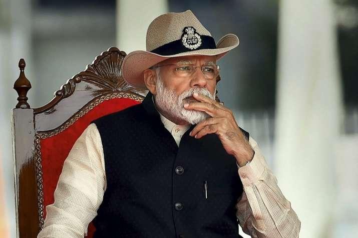 Modi urges supporters to take main bhi chowkidar...- India TV