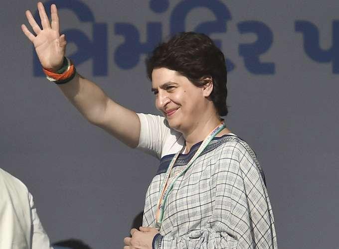 Congress General Secretary Priyanka Gandhi Vadra- India TV
