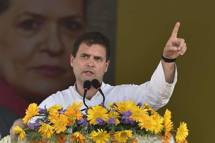 Congress party President Rahul Gandhi- India TV