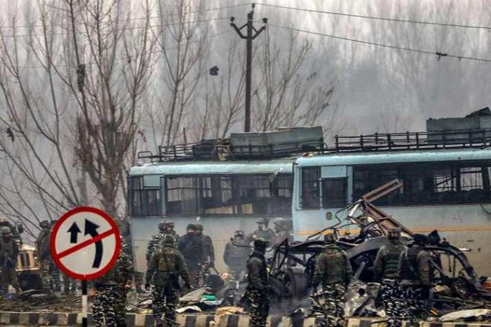 pulwama terror attack- India TV