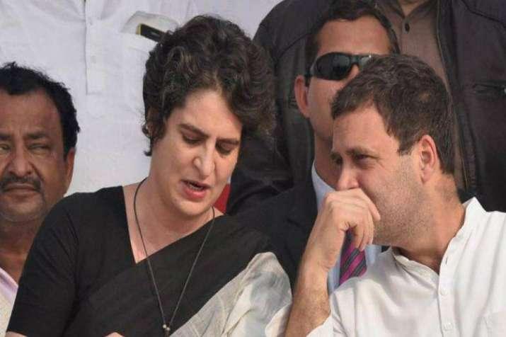 Rahul Gandhi and Priyanka Gandhi - India TV