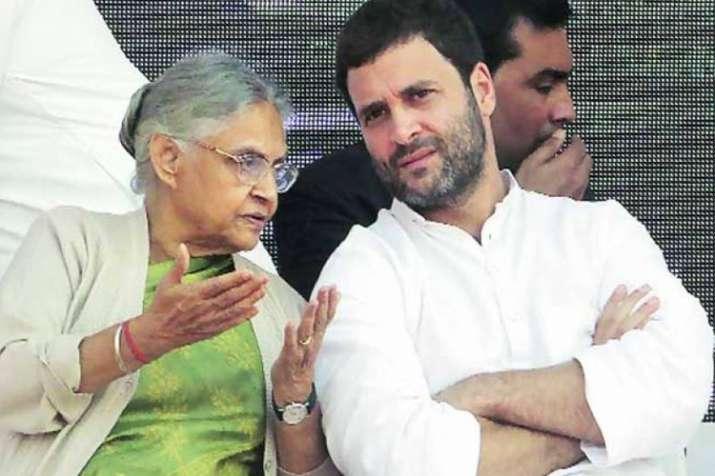 'आप' से गठबंधन पर बंट गई कांग्रेस, शीला दीक्षित ने राहुल गांधी को लिखी चिट्ठी- India TV