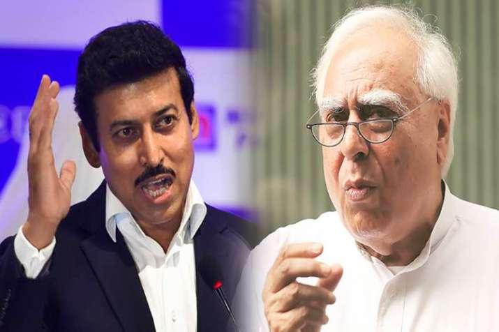 राज्यवर्धन राठौर का सिब्बल से सवाल, पूछा-सबूत तलाशने बालाकोट जाएंगे?- India TV