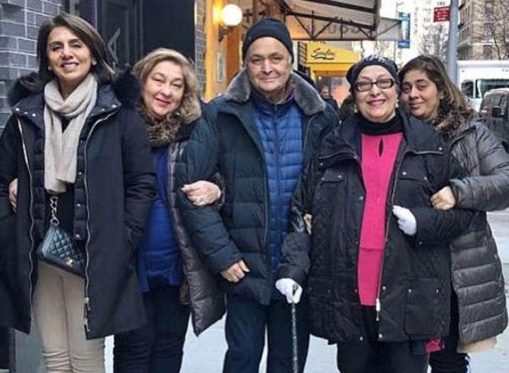 Rishi Kapoor to return home soon from USA- India TV