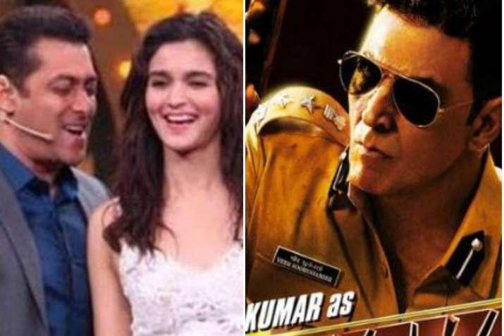 Salman Khan- Alia Bhatt's Inshallah to clash with Akshay Kumar's Sooryavanshi- India TV