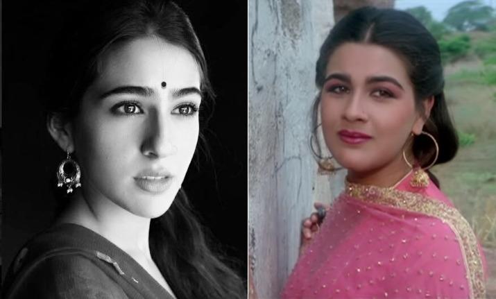 Sara ali khan and Amrita Singh- India TV