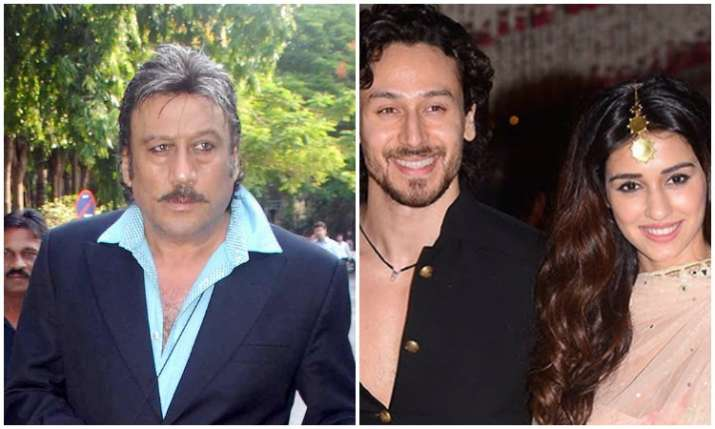 Jackie shroff opened about tiger and disha- India TV