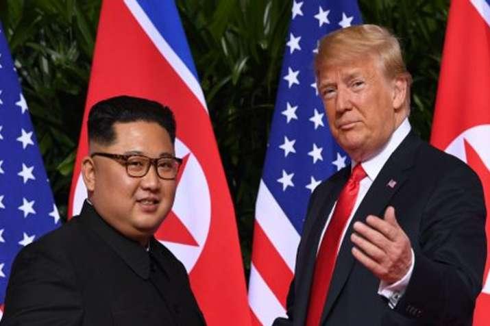ट्रम्प ने उत्तर कोरिया पर लगाए अतिरिक्त प्रतिबंध हटाने का दिया आदेश- India TV