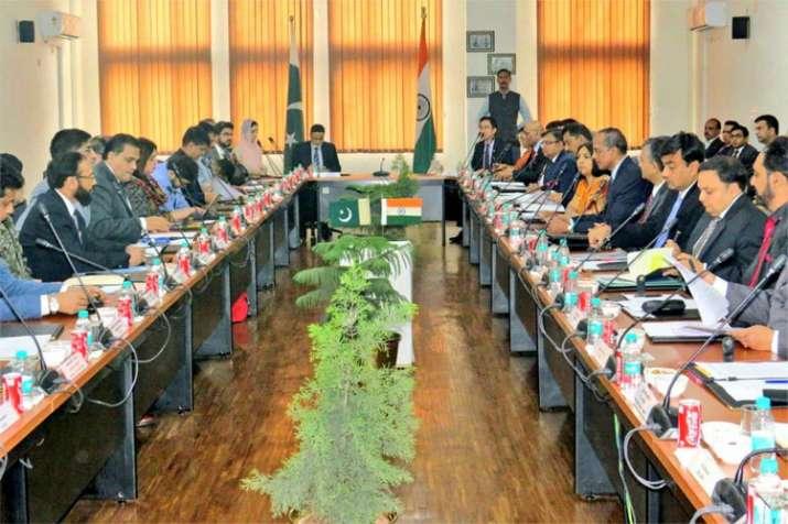 Meeting on Kartarpur Corridor - India TV