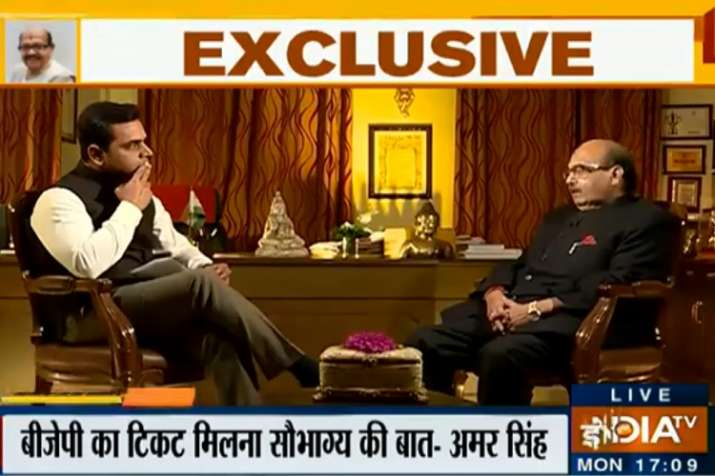 Amar singh exclusive interview with India tv- India TV
