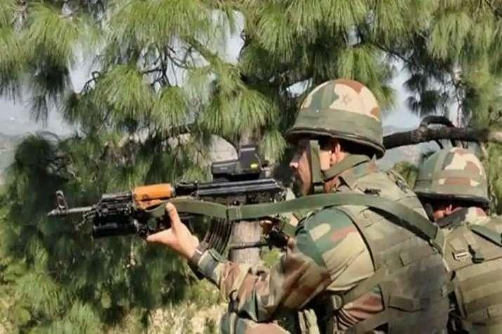 Encounter Jammu Kashmir- India TV