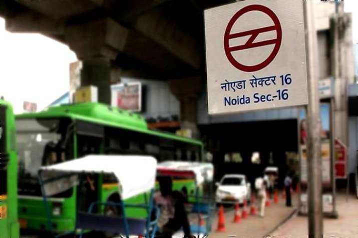 Noida Sector 16 Metro Station - India TV