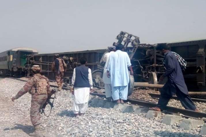 Train Blast- India TV