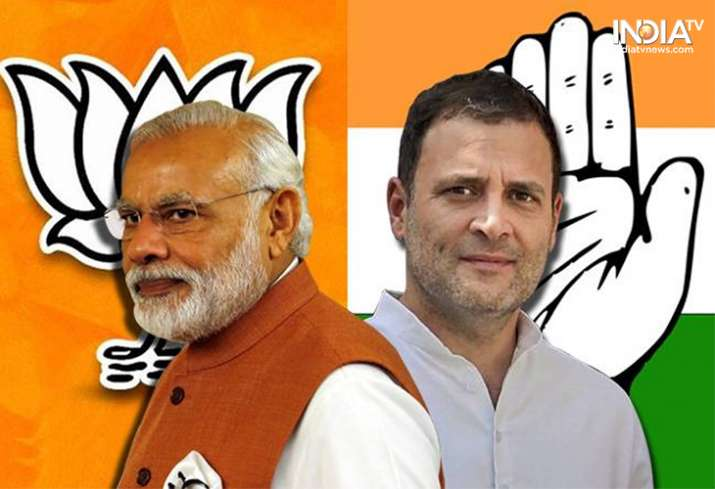 BJP leads over Congress in declaring candidate names for Lok Sabha seats- India TV