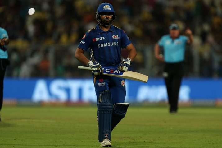 IPL 2019: Rohit Sharma Unbelievable Record At Eden Gardens Stadium At Kolkata Rohit Sharma Fined- India TV