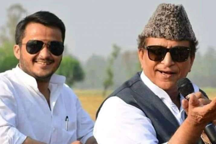 Abdullah Azam Khan and Azam Khan | Facebook - India TV