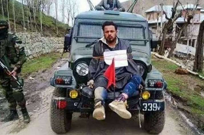 Used as 'human shield' last time Kashmir voted to elect...- India TV