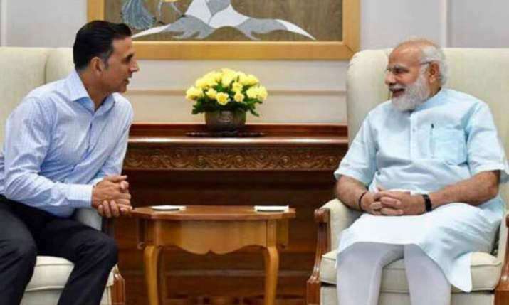 Akshay Kumar, PM Narendra Modi- India TV