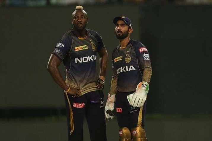 IPL 2019: आंद्रे रसेल की फिटनेस ने बढ़ाई केकेआर की चिंता, ब्रेथवेट पर जमी हैं नजरें - India TV