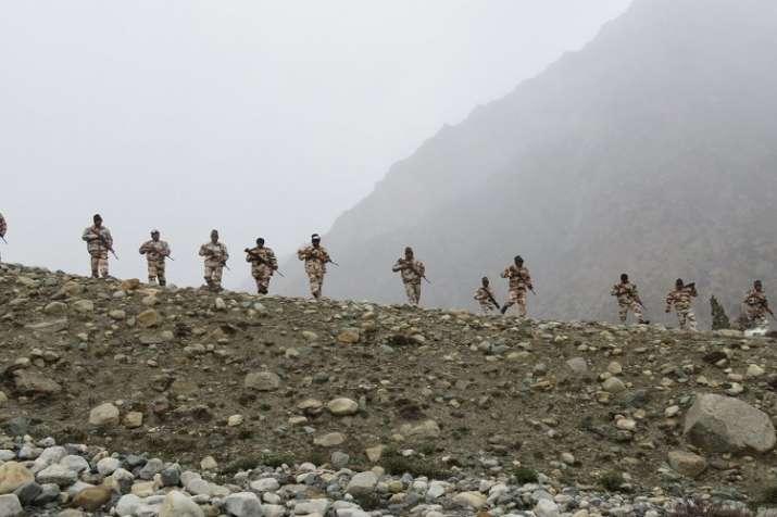 ITBP Soldiers- India TV