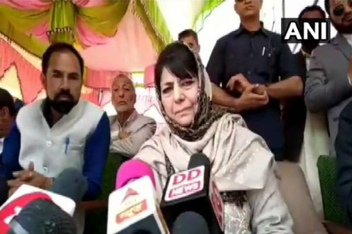 Mehbooba Mufti- India TV