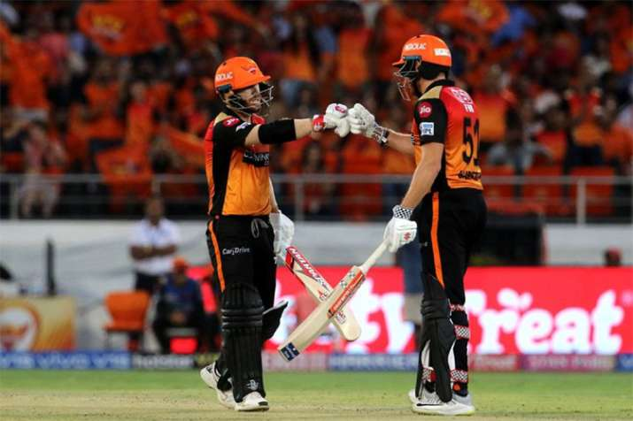 sunrisers hyderabad Beat kolkata knight riders by 9 wickets david warner jonny bairstow- India TV