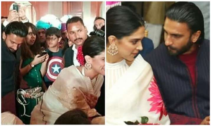 Deepika padukone and ranveer singh Viral picture- India TV