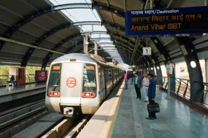 delhi metro station- India TV