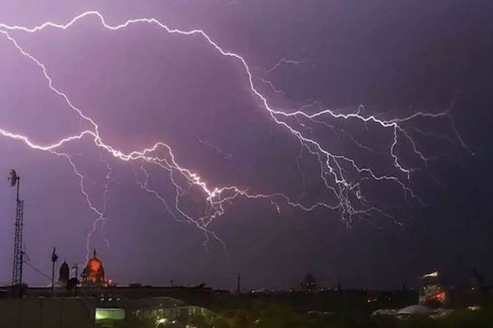 Thunderstorms in Delhi-NCR- India TV