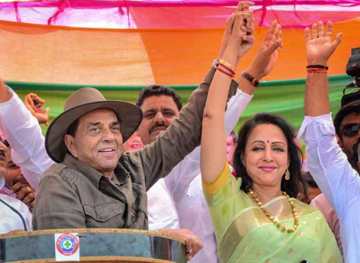 BJP Candidate from Mathura Lok Sabha seat Hema Malini...- India TV