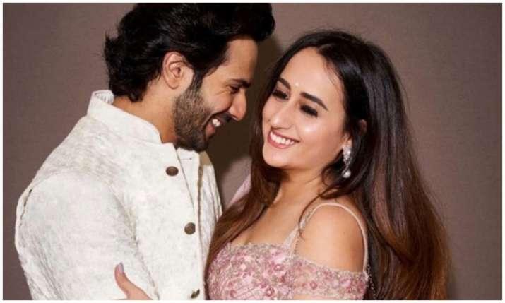 Varun dhawan and natasha dalal- India TV