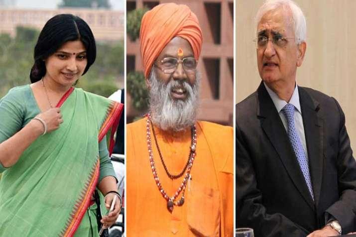 dimple yadav sakshi maharaj and salman khurshid- India TV