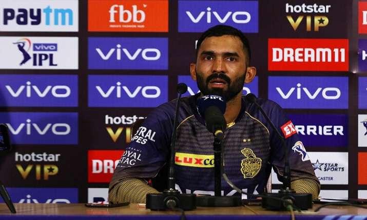 दिनेश कार्तिक आईपीएल...- India TV