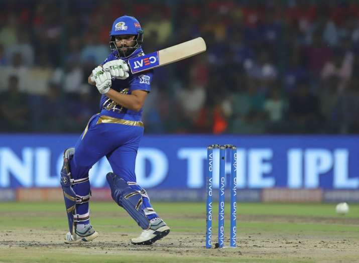 IPL 2019: रोहित शर्मा के टी20 क्रिकेट में पूरे किए 8000 रन, ऐसा करने वाले दुनिया के 8वें बल्लेबाज बन- India TV