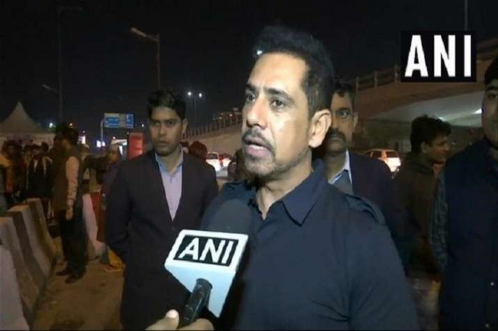 Robert Vadra announced to campaign for Congress party...- India TV