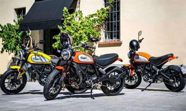 Ducati drives in new Scrambler range in India- India TV Paisa